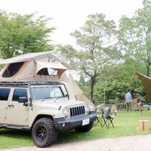 仲間とファミリーキャンプ